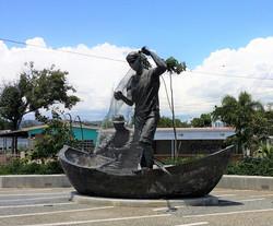 Fisherman's Statue, Salinas