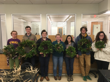 Herbarium Fellows Engage Plant Awareness Through Wreath Making!