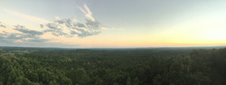 View of Cane Creek Watershed in Fall Creek Falls from Firetower