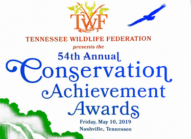 Evans Receives Conservation Educator of the Year Award