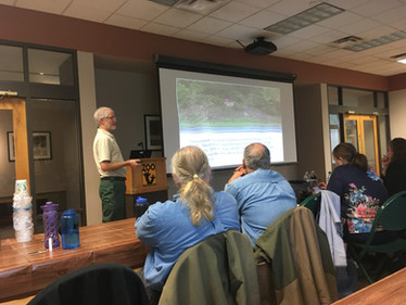 Evans Attends the Second Annual Meeting of the Tennessee Plant Conservation Alliance