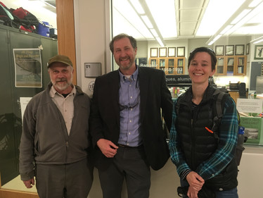 Visit with USGS Scientists in the Herbarium