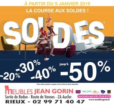 Meubles Jean Gorin Rieux Publicité Print Precom Habitat