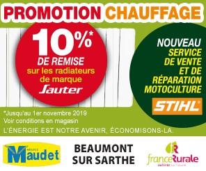Radiateur chauffage Pub print ouest-france Precom Habitat