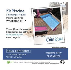 Carré_Côté Eau prospectus campagne de communication Ouest-France