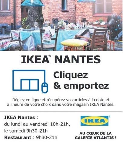 Ikea à Nantes, une Publicité Print Precom Habitat