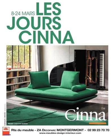 Cinna à Montgermont, une Publicité Print Precom Habitat