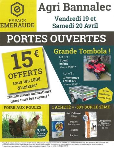 Espace Emeraude, Agri Bannalec, Pub print Precom Habitat