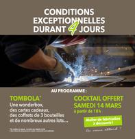 Carré Clopta  prospectus campagne de communication Ouest-France