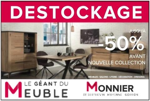 Meuble Monnier en Mayenne, une Publicité print Precom Habitat
