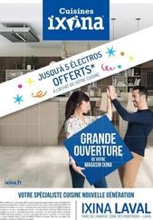 Cuisines Ixina à Laval, une Publicité Print Precom Habitat