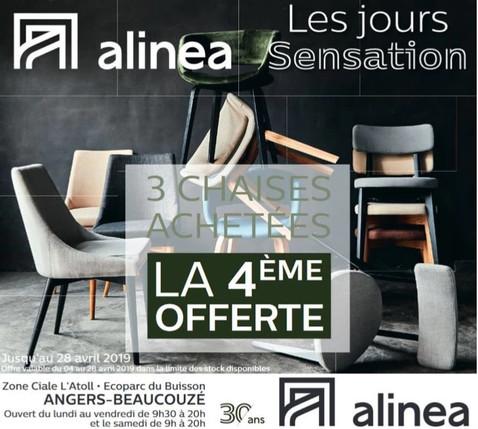 Alinéa à Angers et Beaucouzé, une Publicité Print Precom Habitat