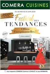 Comera Cuisines, en Maine et Loire, un prospectus TV Mag Precom Habitat