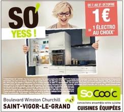 Socoo'c à Saint-Vigor-Le-Grand, une Publicité Print Precom Habitat