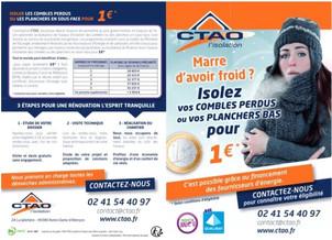 CTAO à Notre-Dame d'Allençon, un flyer Precom Habitat