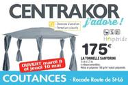 Centrakor à Coutances, une Publicité Pri