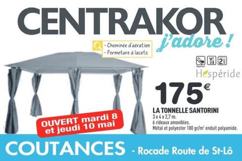 Centrakor à Coutances, une Publicité Print Precom Habitat
