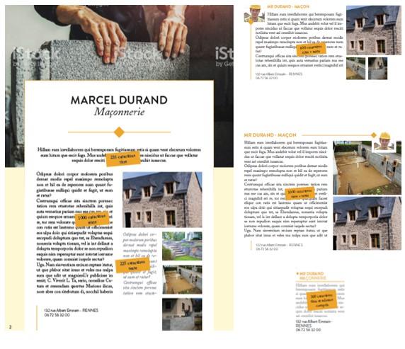 Un magazine sur les artisans créé par l'agence de communication Precom Habitat