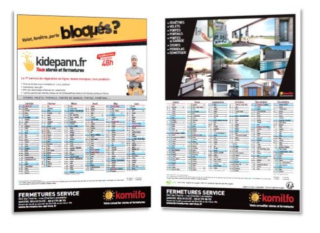 calendrier TV Magazine