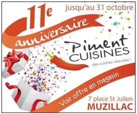 Piment Cuisines à Muzillac, un Display Precom Habitat