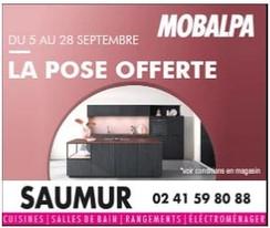 Mobalpa à Saumur, un Display Precom Habitat