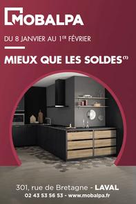 MOBALPA prospectus campagne de communication Ouest-France