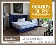 Grand Litier à Caen, une Publicité Print
