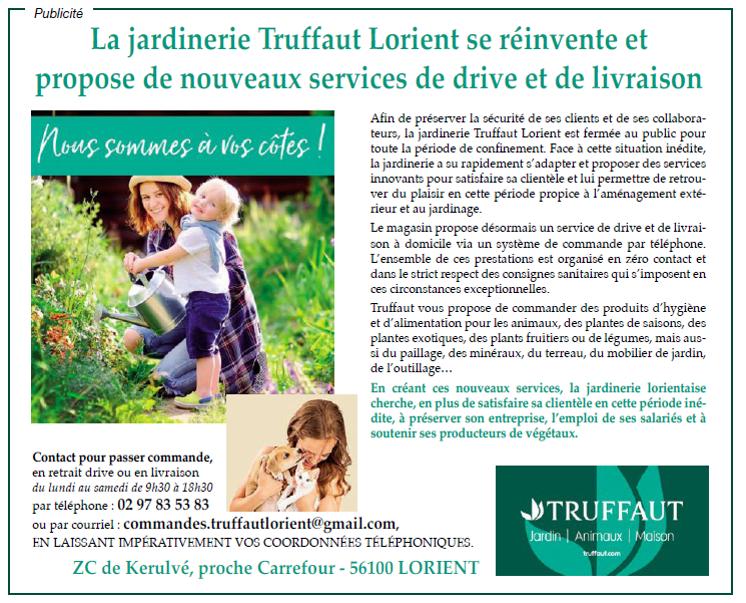 Truffaut jardinerie Lorient