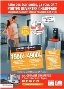 Anjou Maine Chauffage à Angers, une Publiblité Print Precol Habitat