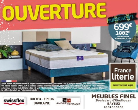 Meubles Finel à Bayeux, une Publicité Precom Habitat