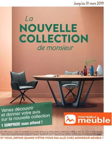 Monsieur Meuble, une Publicité Print Precom Habitat