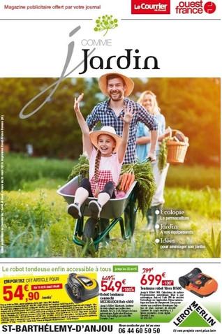 LeRoy Merlin à Saint-Barthélemy-D'Anjou, une Publicité Print Precom Habitat