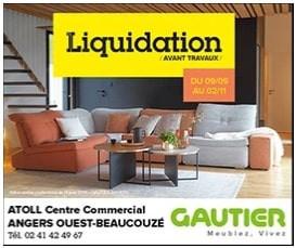 Gautier à Angers et Beaucouzé, un Display Precom Habitat