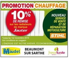 Maudet Beaumont sur Sarthe Display Precom Habitat