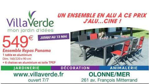 VillaVerde aux Sables-d'Olonnes, une Publicité Print Precom Habitat