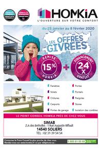 HOMKIA prospectus campagne de communication Ouest-France