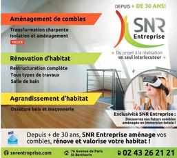 SNRentreprise à Saint Berthevin, une Publicité Print Precom Habitat