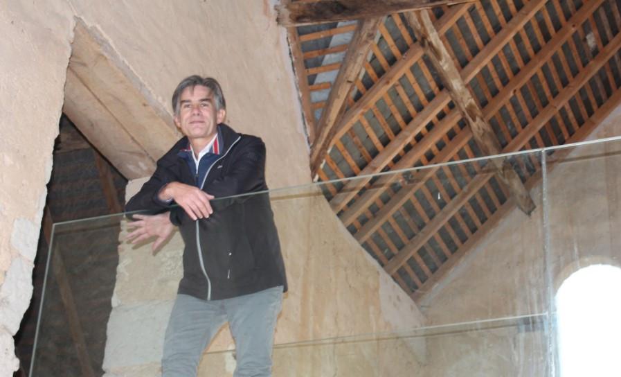 Vincent Masson Dirigeant des Ateliers Dabin dans la Sarthe