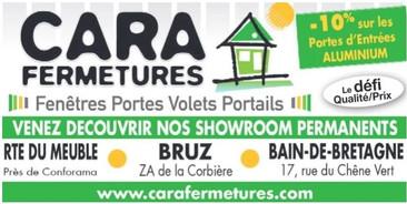 Cara Fermetures à Bruz, une Publicité Precom Habitat