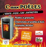 C AUX POELES prospectus campagne de communication Ouest-France