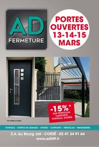 AD FERMETURES prospectus campagne de communication Ouest-France