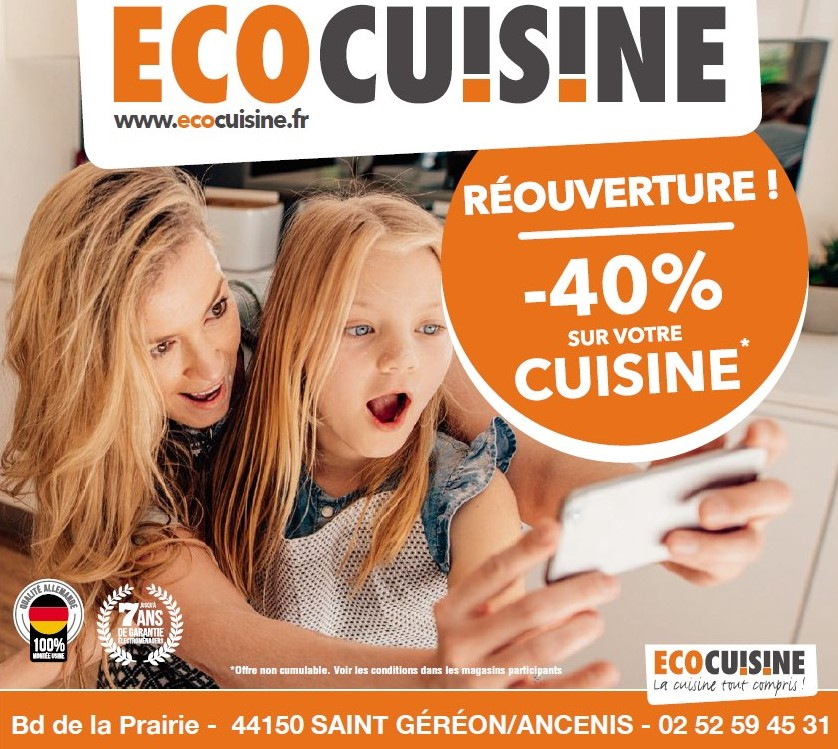 Ecocuisine cuisinite Saint Géréon Ancenis Nantes