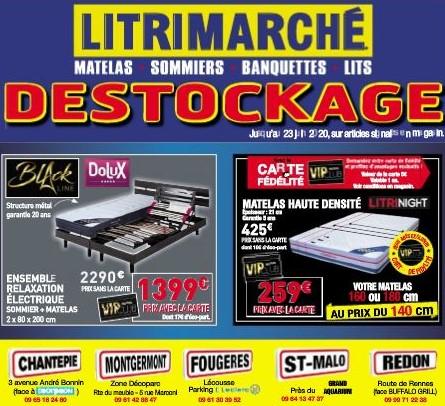 Litrimarché Destockage Chantepie Montgermont Fougères Saint-Malo Redon