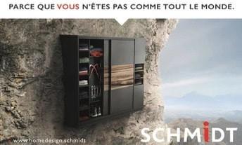 Schmidt Cuisines à Rennes, une Publicité Print Precom Habitat