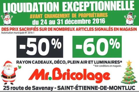 Mr.Bricolage à Saint-Etienne-de-Montluc, une Publicité Print Precom Habitat