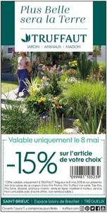 Truffaut à Saint-Brieuc, un Display Precom Habitat