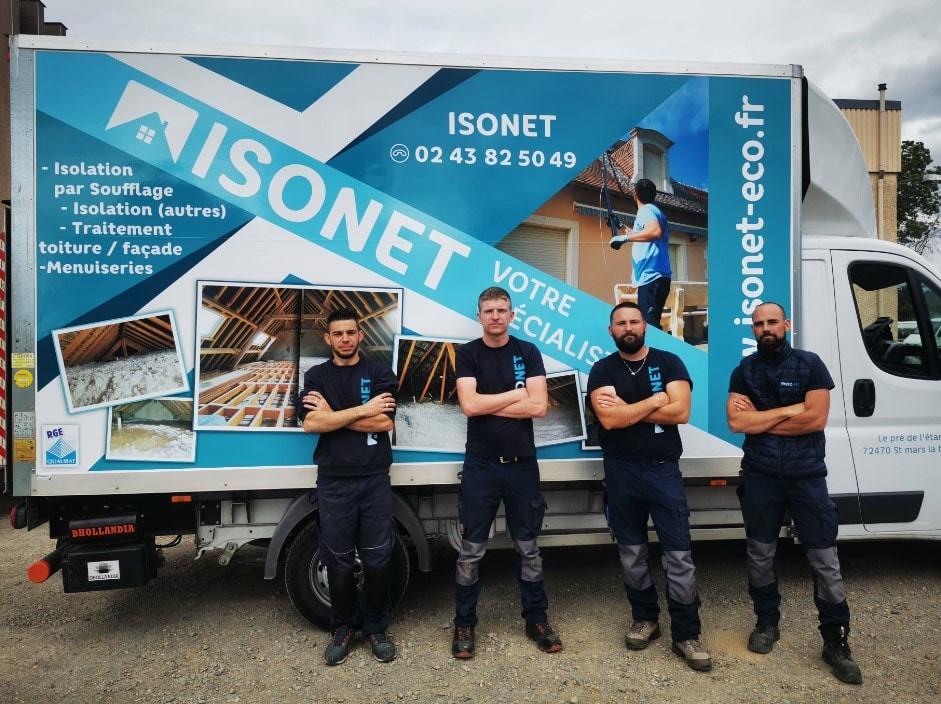 Equipe ISONET Isolation Sarthe