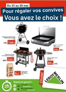 Leroy Merlin à Cholet, une Publicité Print Precom Habitat