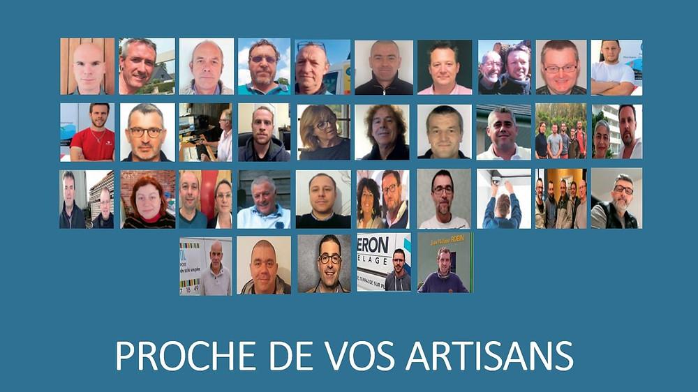 Proche de vos artisans magazine Ouest-France