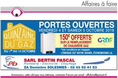 Bertin Pascal en Sarthe, une Publicité Print Precom Habitat